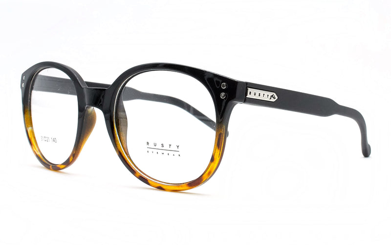 RUSTY VERLAINE SBLK DEMI MBLK - Opticas Lookout