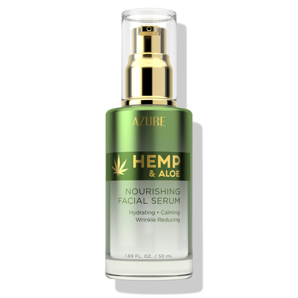 Hemp & Aloe Nourishing Facial Serum