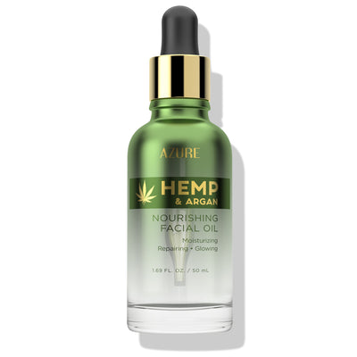 Hemp & Argan Nourishing Facial Oil