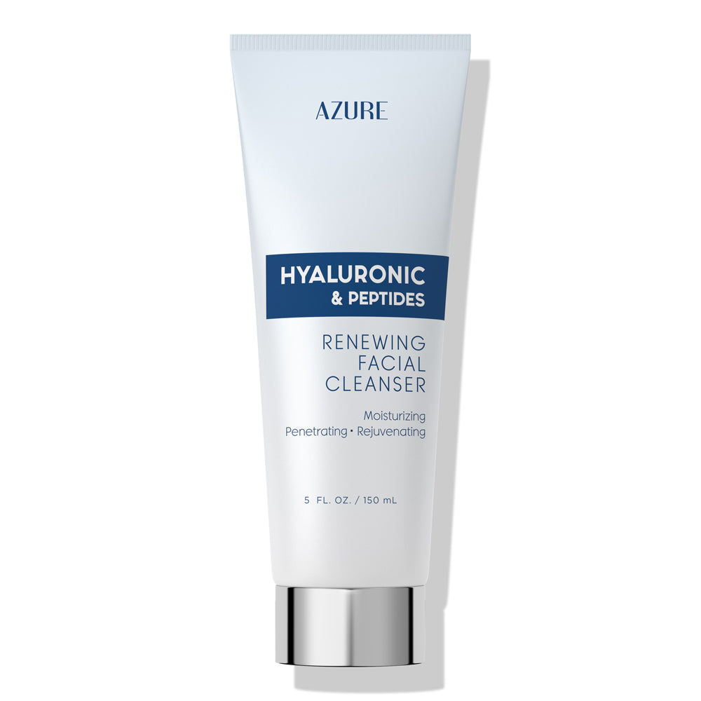 Hyaluronic Acid & Peptides Renewing Facial Cleanser