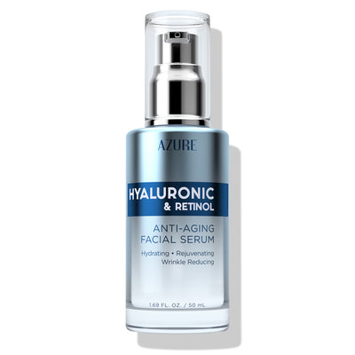 Hyaluronic & Retinol Anti-Aging Facial Serum