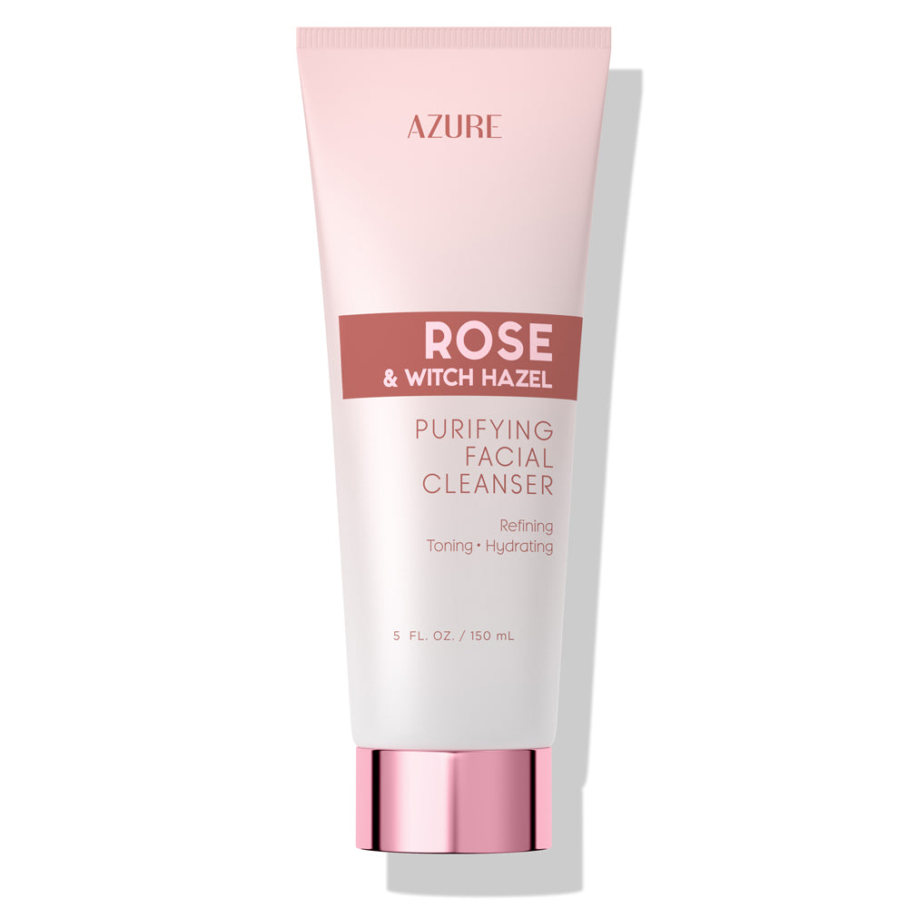 Rose & Witch Hazel Purifying Facial Cleanser