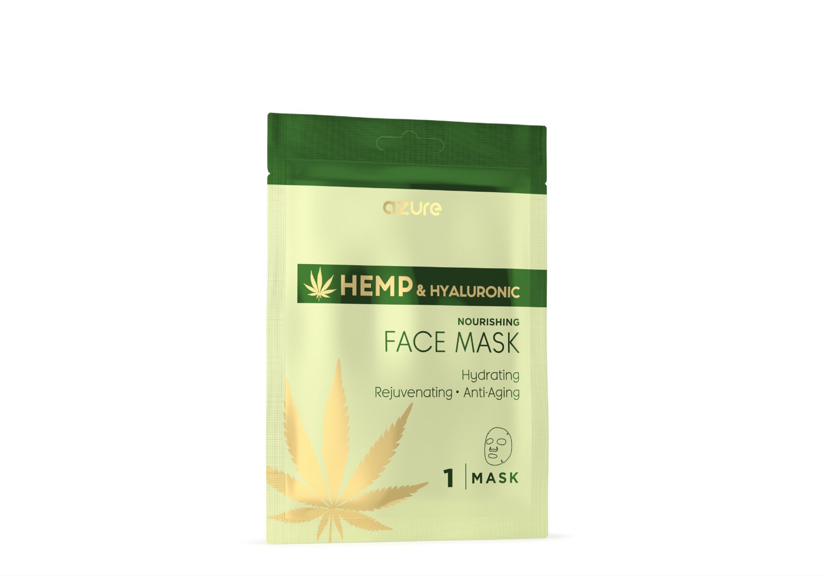 Hemp & Hyaluronic Acid Nourishing Sheet Facemask: 5 Pack