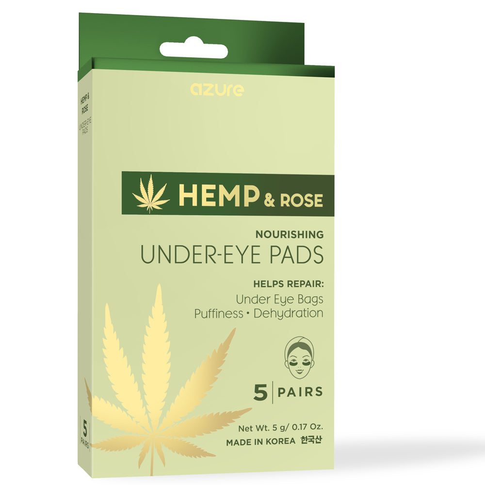 Hemp & Rose Nourishing Under-Eye Pads