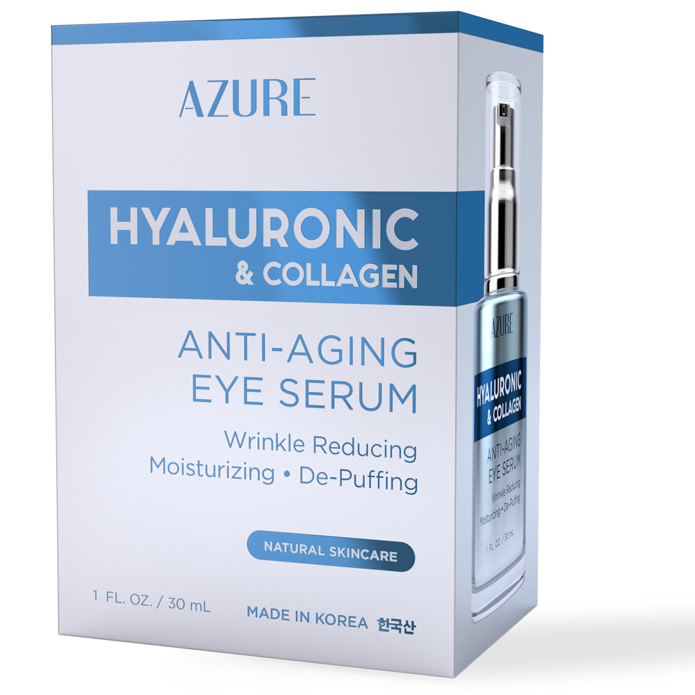 Hyaluronic & Collagen Anti-Aging Eye Serum