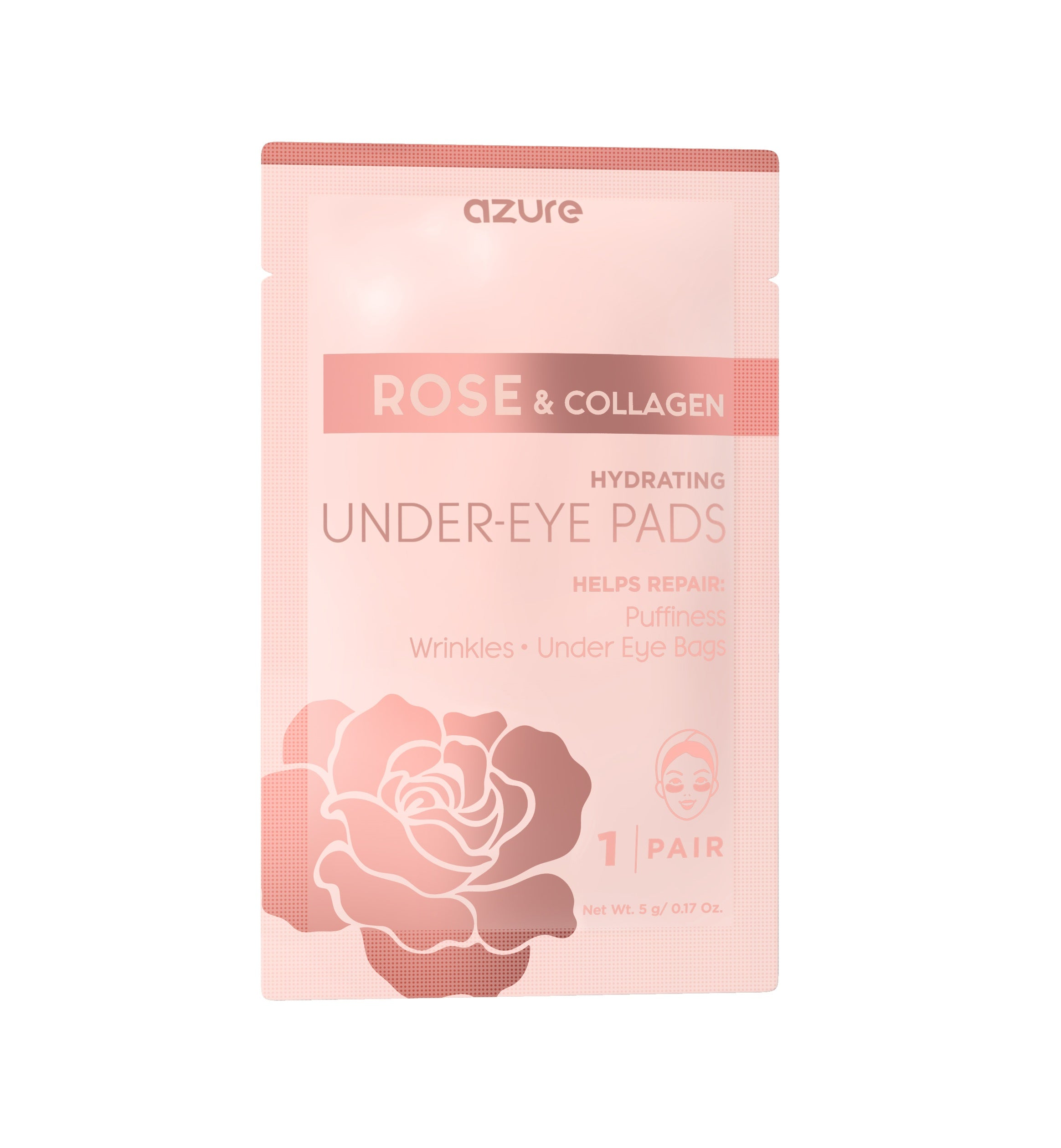 Rose & Collagen Hydrating Under Eye Pads