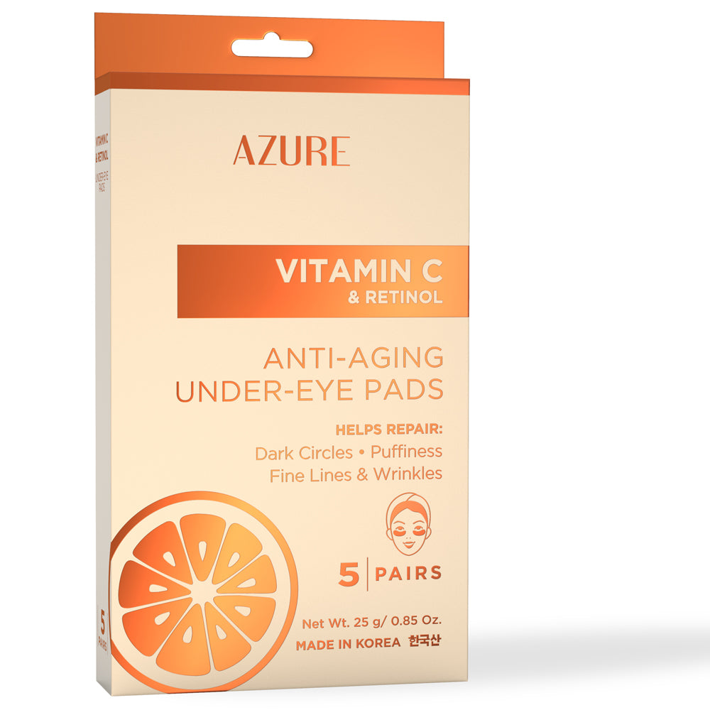 Vitamin C & Retinol Moisturizing Under Eye Pads