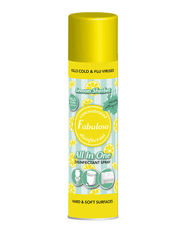 Fabulosa All In One Lemon Sherbet 400ml