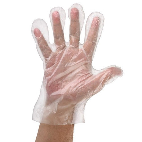 PE Polythene Gloves 100 Pack
