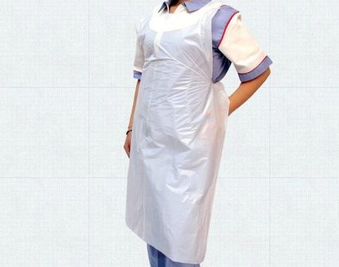 Disposable Aprons Roll 200 White