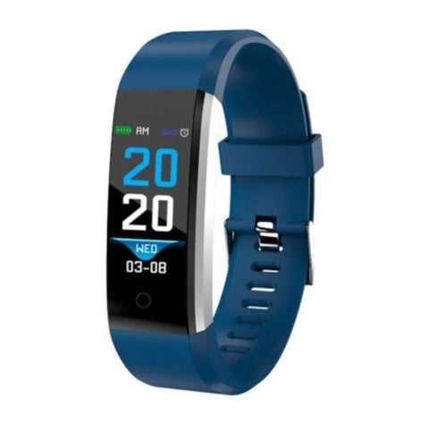 "Activity Bangle Denver Electronics BFH-16 0.96"" Blue"