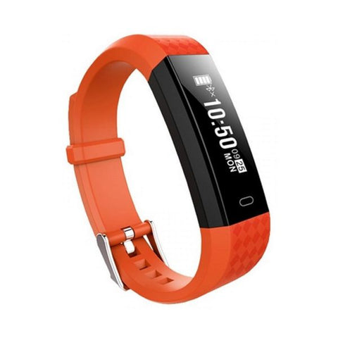"Activity Bangle BRIGMTON BSPORT B1 0,87"" OLED Bluetooth 4.0 IP67 Orange"