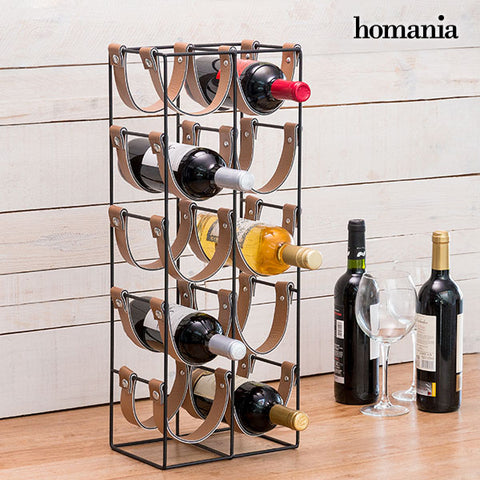 Homania Belt Metal Bottle Rack (10 Bottles)