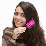 Triple Action Hairbrush