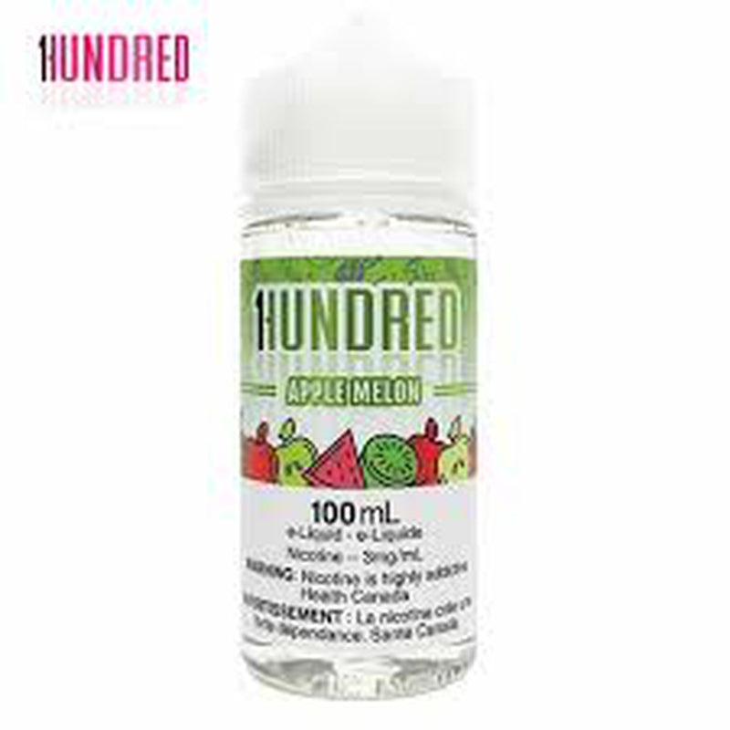 3 MG Apple Melon By Hundred - 100 ML