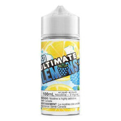 3 MG Blue Raspberry ICED - Ultimate Lemons - 100 ML