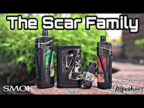 Smok Scar-P3 80 W Open Pod Kit