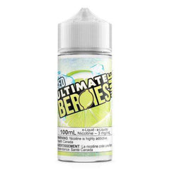 3 MG Lime By Ultimate Berries ICED - 100 ML