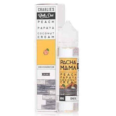 6mg Pachamama - Peach Papaya Coconut Cream - 60 ML