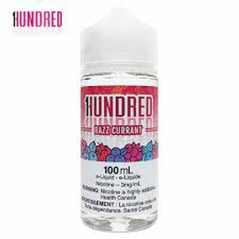 3 MG Razz Currant By Hundred - 100 ML