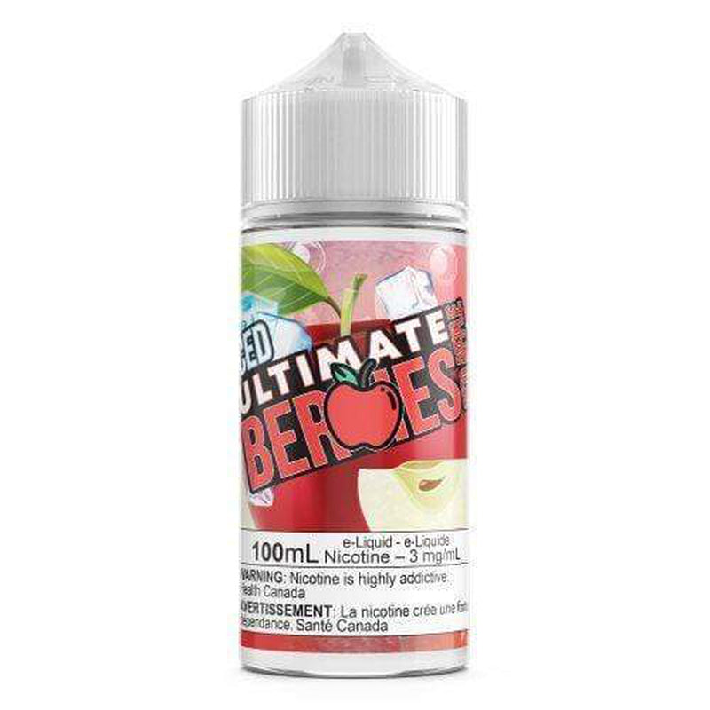 3 MG Red Apple By Ultimate Berries ICED - 100 ML