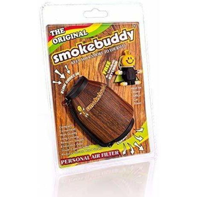 Smoke Buddy Original Personal Air Filter with Wood Detailing