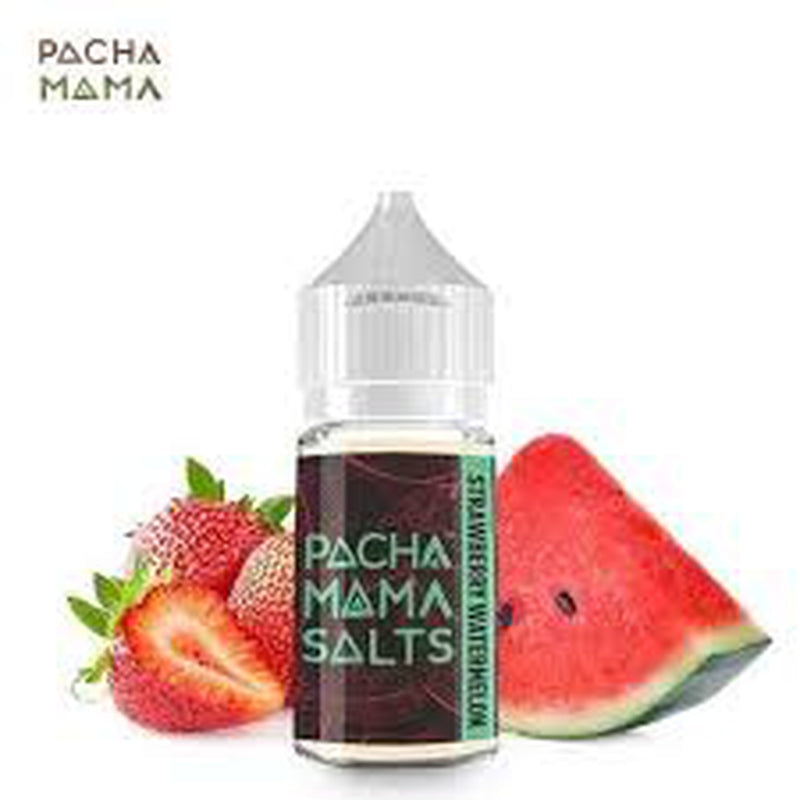 25 MG Strawberry Watermelon By Pachamama Salts - 30 ML