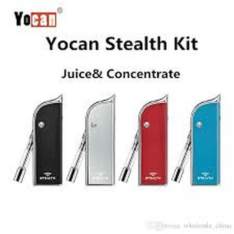 Blue Yocan Stealth 2-in-1 Liquid Concentrate Vaporizer