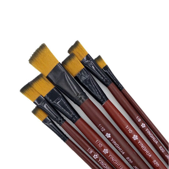 6 sets Acrylic Brush - art supplies