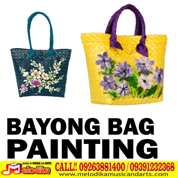 Bayong Bag Painting