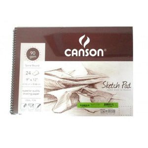 Canson 9x12 24 sheets sketchpad paper