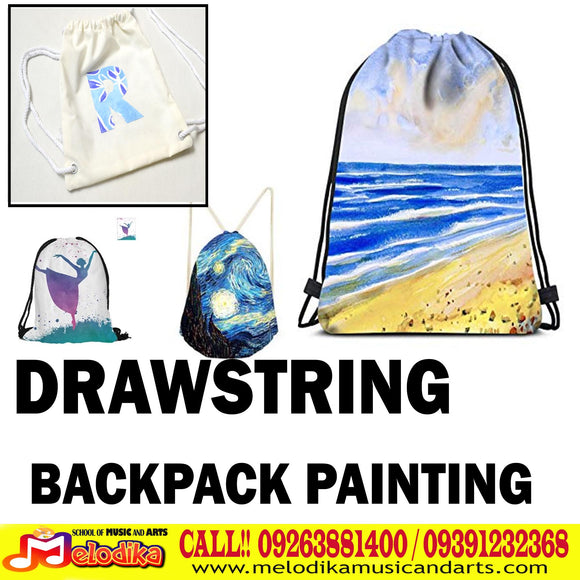Drawstring Bag Painting