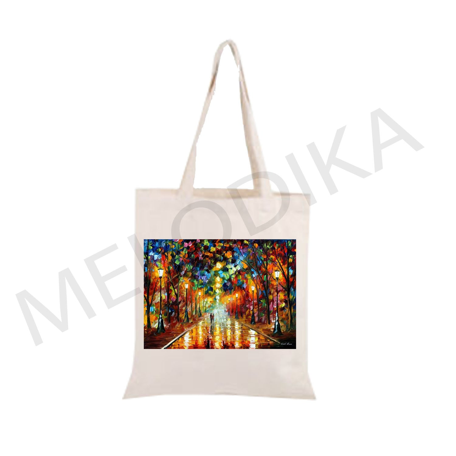 Canvas Tote Farewell Afremov Painting artist bag collections