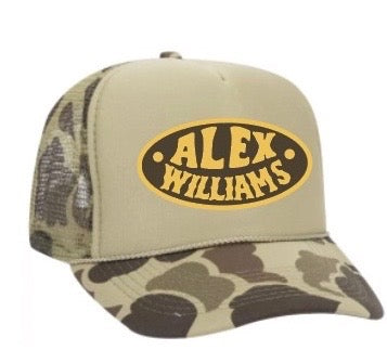 Camo Foam Front Patch Hat