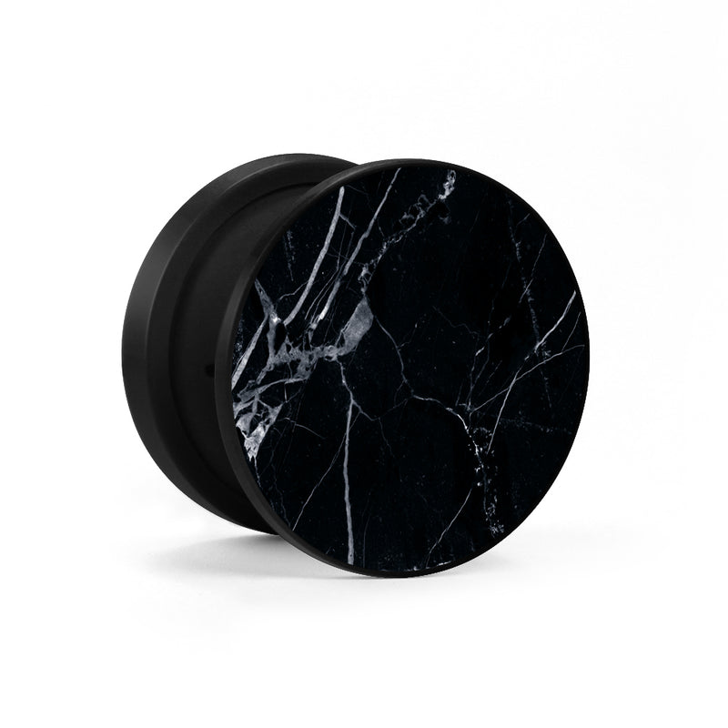 Midnight Marble Phone Holder