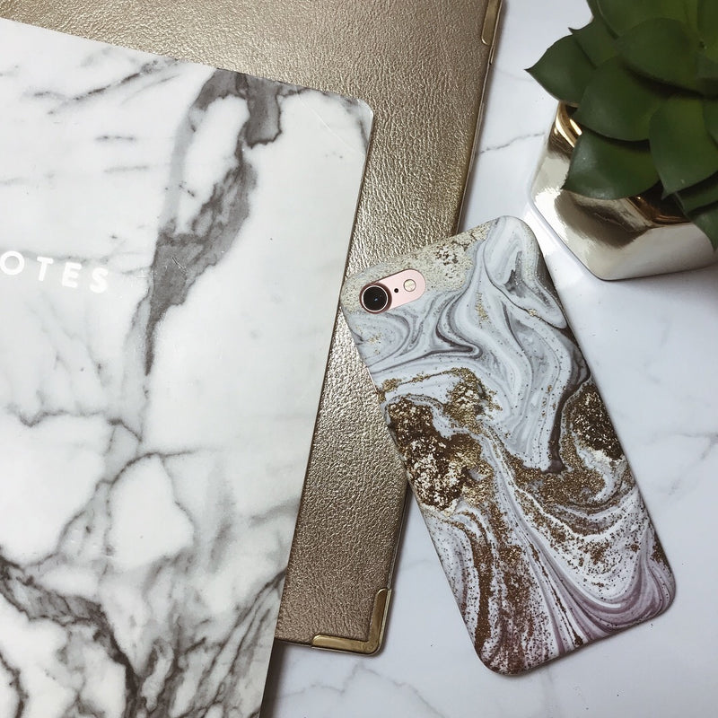 Gold Marble Case (4371464880181)