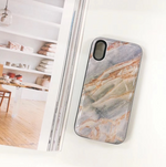 Gray Marble Battery Power Case