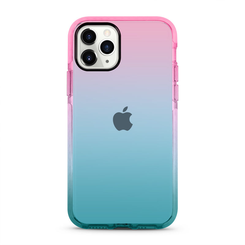 Pink & Blue Gradient iPhone Case
