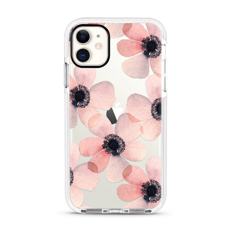 Pink Flowers Impact Case (4339937738805)