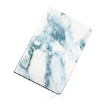 Blue Marble Leather iPad Case