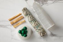 Load image into Gallery viewer, Large Rejuvenation Malachite Home Energising Kit