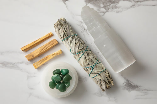 Large Happiness Aventurine Home Energising Kit