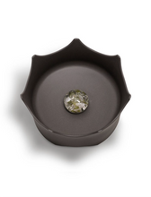 Load image into Gallery viewer, SLATE GREY CRYSTAL PET BOWL