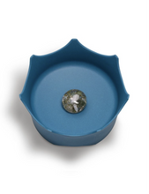Load image into Gallery viewer, OCEANIC BLUE CRYSTAL PET BOWL