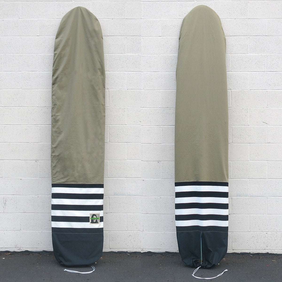 Green Fuz Fuzwar Canvas Board Bag - Longboard