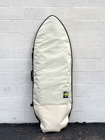 Green Fuz Avalanche Fish Board Bag Front