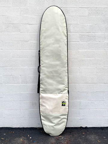 Green Fuz Avalanche Longboard Board Bag Front