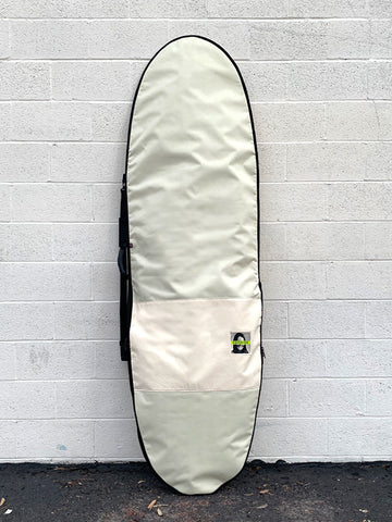 Green Fuz Avalanche Mid Length Board Bag Front