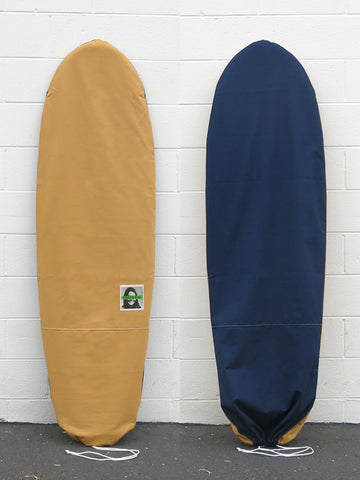 Green Fuz Flipside Canvas Board Bag