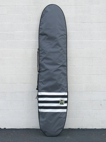 Green Fuz Greyscale Longboard Travel Board Bag